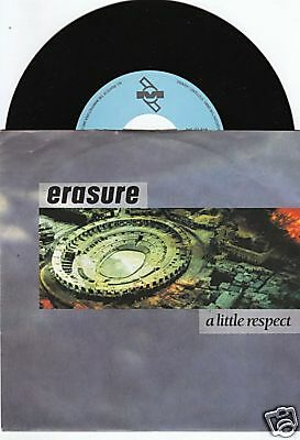 ERASURE A Little Respect 45/GER/PIC