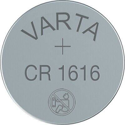 2x CR1616 Lithium Knopfzelle 3V CR 1616 VARTA lose