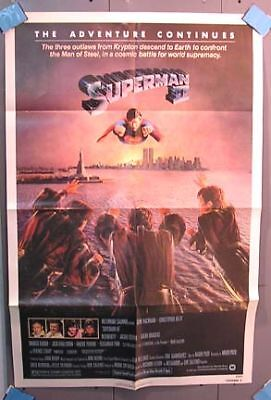 One-Sheet Poster 1981 SUPERMAN II Christopher Reeve