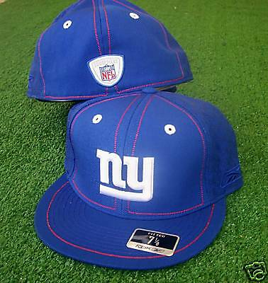 New York Giants hat  NFL Reebok Fitted 7 1/8 Conflict