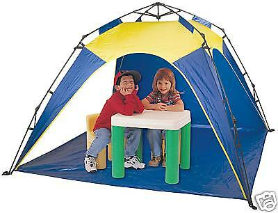 """Pacific Play Tents One Touch Set Up 80"""" Shade Shelter Pavillion Tent PPT19015"""