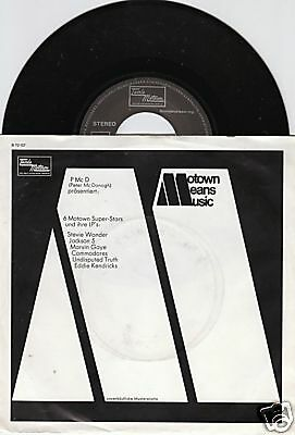 6 Motown Superstars 45/ger/pic/promo/special Edition
