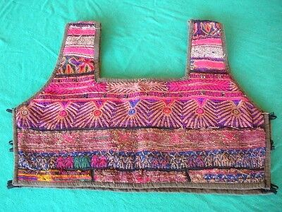 Intricate Antique early 1900 bodice from Central Asia