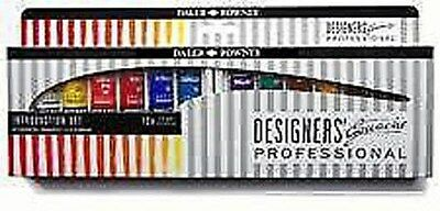 Daler Rowney Designers Intoductory Gouache Introduction Set  - 12 x 15ml Tubes