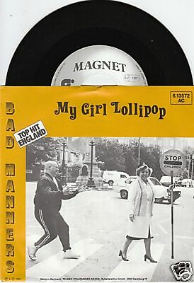 BAD MANNERS Millie Small Coverversion 45/GER/PIC