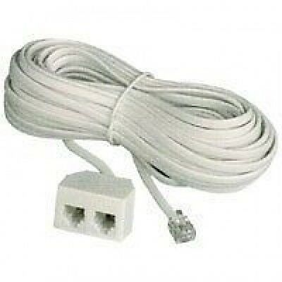 USA Modular Phone Extension Lead 3m  (box of 200)