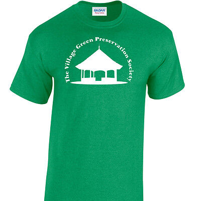 Inspired by The Kinks Ray Davies Village Green T-Shirt Unique Design