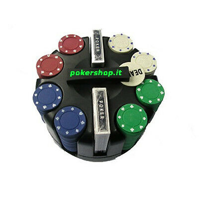 Set 200 Fiches 4 grammi Texas Hold'em - Poker