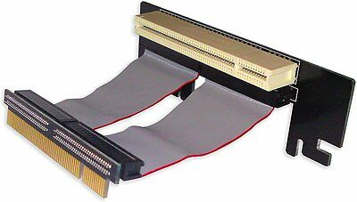 HIPER Low Profile Flexible PCI RISER CARD HLR-3HPE-53,  90-degree angle