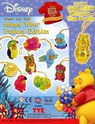 TOMY _Winnie the Pooh_ TROPICAL EDITION completa