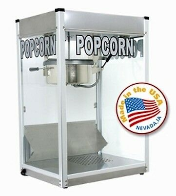 Commercial 12 ozPopcorn Machine Theater Popper Maker Paragon Pro Series PS-12