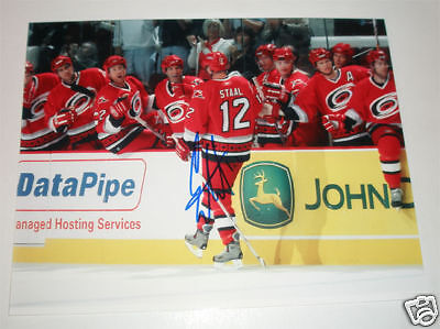 Eric Staal Signed 8X10 Photo  coa  Carolina Hurricanes Authentic Autograph  Goal a2dbf6c1d