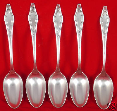 Holmes & Edwards Hostess Silver Plate 5 pc.