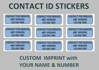 12 - Contact Us Stickers Labels vending vendstar   x