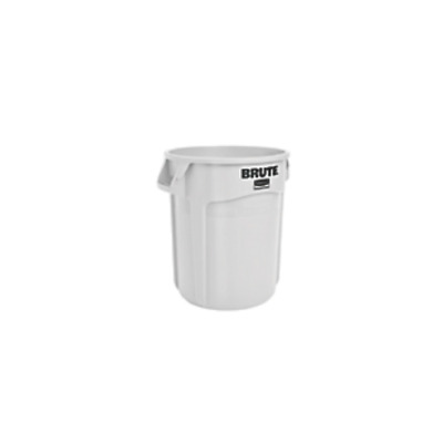 Rubbermaid BRUTE® Container without Lid – WHITE FOC P&P