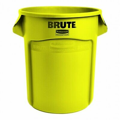 Rubbermaid BRUTE® Container without Lid – YELL FOC P&P
