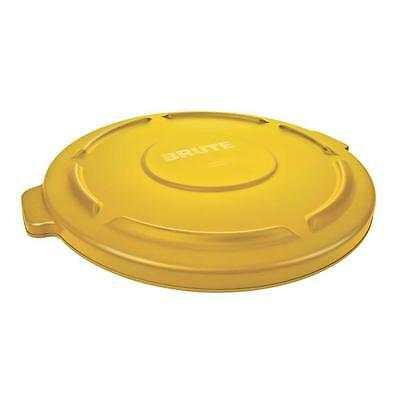 Rubbermaid 2645 BRUTE® Lid Yellow to Fit 2643 - FOC P&P