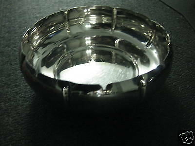 SILVER PLATE SERVING BOWL