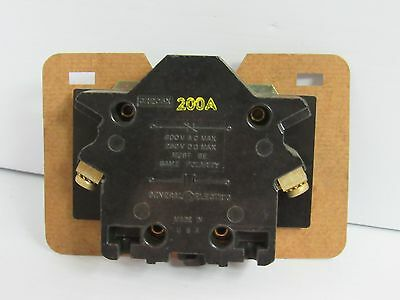 New General Electric GE Auxiliary Contact CR205X-200A 600VAC