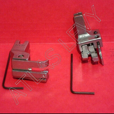 Set of Dual Compensating Presser Feet 211-14 and 211-15