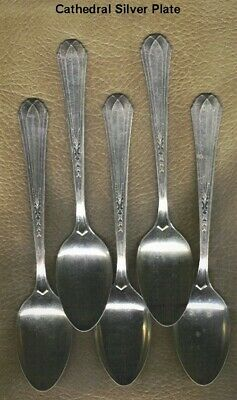 Cathedral Silver Plate 5 pc.