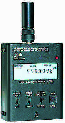 OPTOELECTRONICS CUB Frequency Counter Bug Detector NEW!