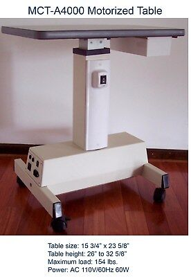 MCT-A4000L Motorized Table / Large size / Brand New/NR