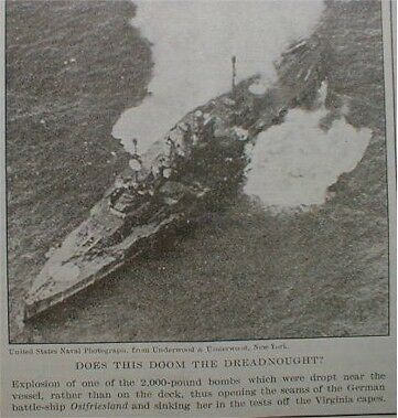 General Billy Mitchell 1921 Air Power v Sea Power