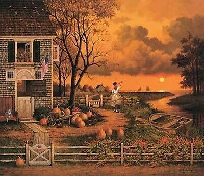 CHARLES WYSOCKI-S/N print-SUPPER CALL