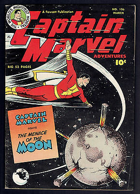 1950 Fawcett Captain Marvel Adventures #106 FN