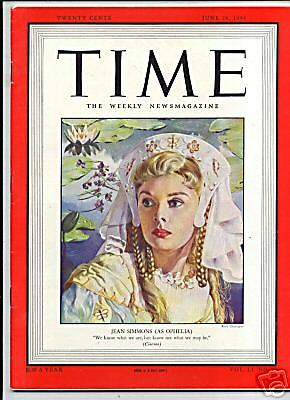 MAGAZINE TIME SIMMONS JEAN  JUNE 28 1948