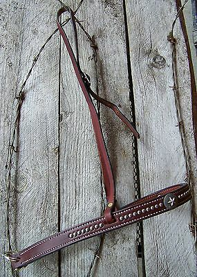 Tie Down - Dark Oil with Pewter Stars by Cowperson Tack