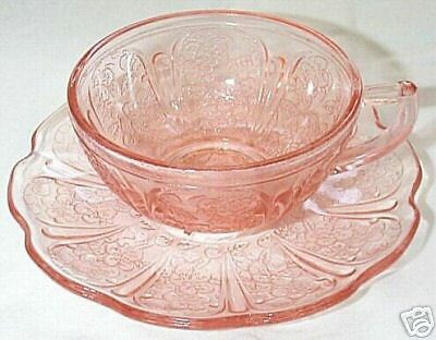 Cherry Blossom Pink Child's Cup & Saucer Set!!
