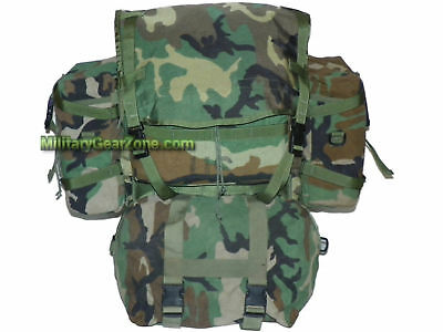MOLLE II RUCKSACK BACKPACK Woodland Rifleman Ruck Pack