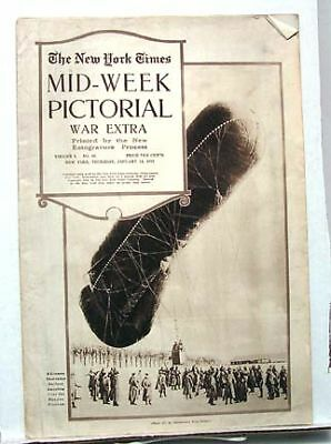 1915 NY TIMES Mid-Week Pictorial Belgian ROYAL CHILDREN