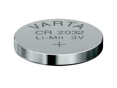 10 x CR2032 Lithium Knopfzelle 3V CR 2032 original VARTA lose Industrie-Ware