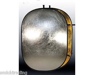 2 in 1 150 x 200 cm  Gold Silver Reflector large