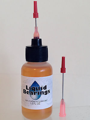 Liquid Bearings, BEST 100%-synthetic oil for Tyco trains and all model RR, READ!