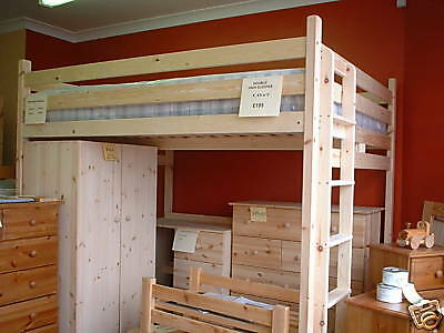 King size Double Loft Bed/High Sleeper New . 5ft