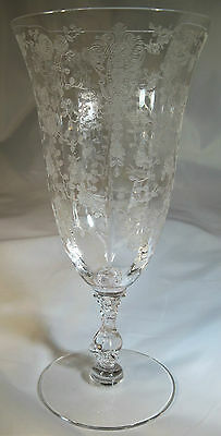CAMBRIDGE ROSE POINT CRYSTAL #3121 12oz FTD TEA TUMBLER