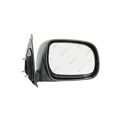 Toyota Hilux '05-'13 Ute BLACK Manual Side Door Mirror RIGHT RH RHS NEW