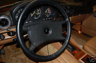 BMW Genuine Leather Steering Wheel Cover - All Models - Custom