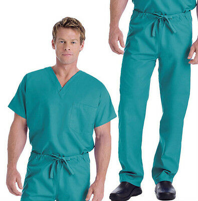 Cherokee Work Wear scrubs Unisex scrub set 25 colors XS-XL NEW! 4100 & 4777