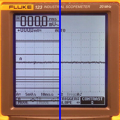 Fluke 123, 124, 125 Scopemeter LCD Display Line Repair