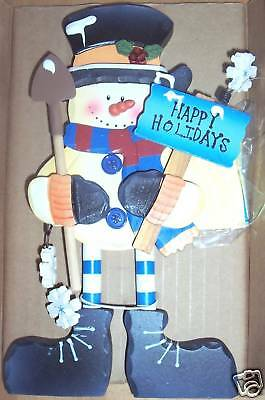 Avon Holiday Standees Snowman