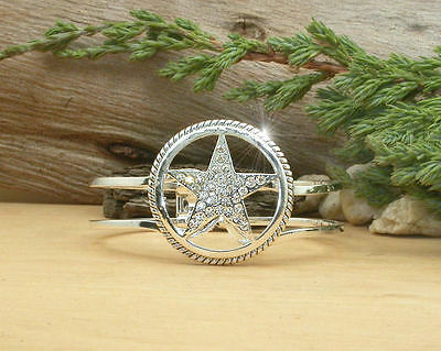 Horse Western Jewellery Jewelry - Ladies  Lone Star Bangle Silver