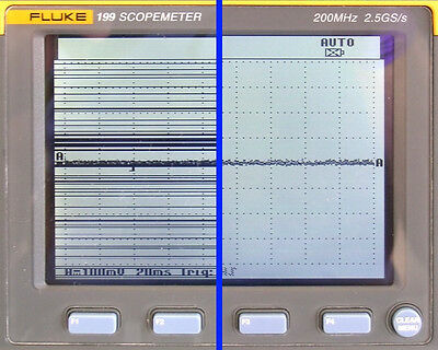 Fluke 192, 196, 199 Scopemeter LCD Display Line Repair