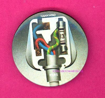 Hawkwind PXR5 Official uk 1979 pinback button badge y