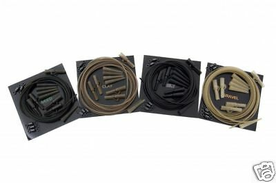 Korda NEW Safe Zone Fishing Lead Clip Action Pack Weed - KLCAPW