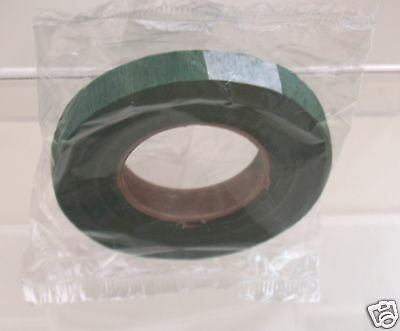 4 Reels Of Green Floral Tape Save On Postage